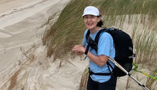 Peggy's personal Camino raises over €5,500