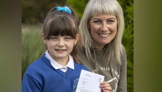 Donegal schoolgirl receives inspirational letter from Tánaiste