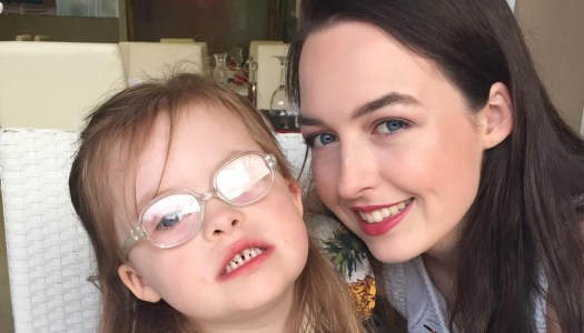 Eight-year-old Kayla inspires sister's 5k a day fundraiser