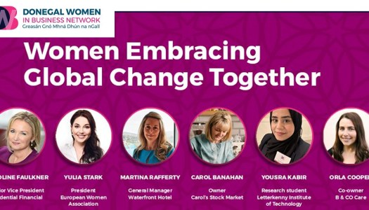 Donegal Women in Business Network embrace global change on IWD 2021