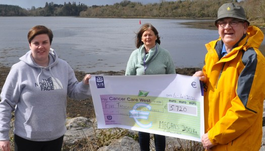 Megan's march in March raises amazing €5,720 for Cancer Care West