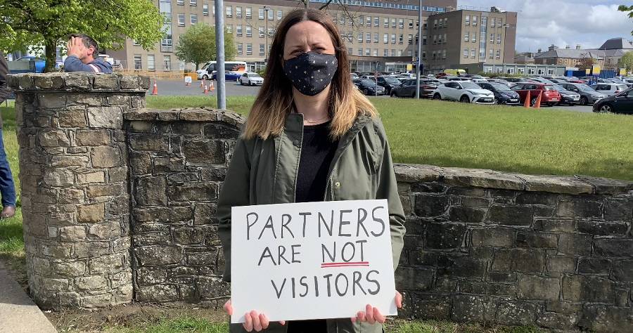 Protest calls for easing of maternity restrictions in Letterkenny