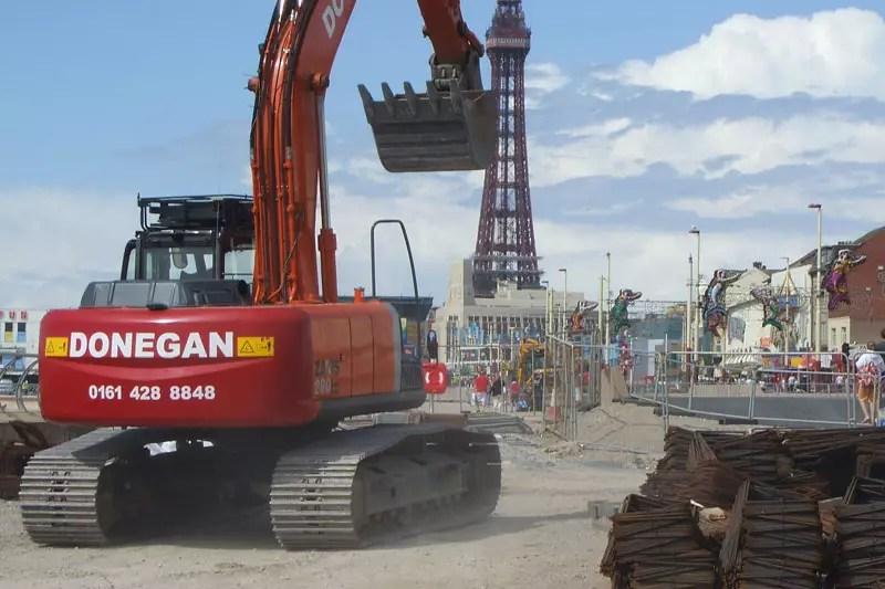 Blackpool Coastal Protection Scheme