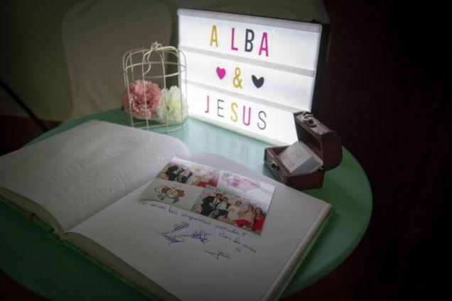 fotomaton vintage - libro de firmas boda sevilla