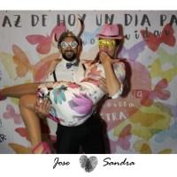 Fotomaton envejecido boda en Sevilla