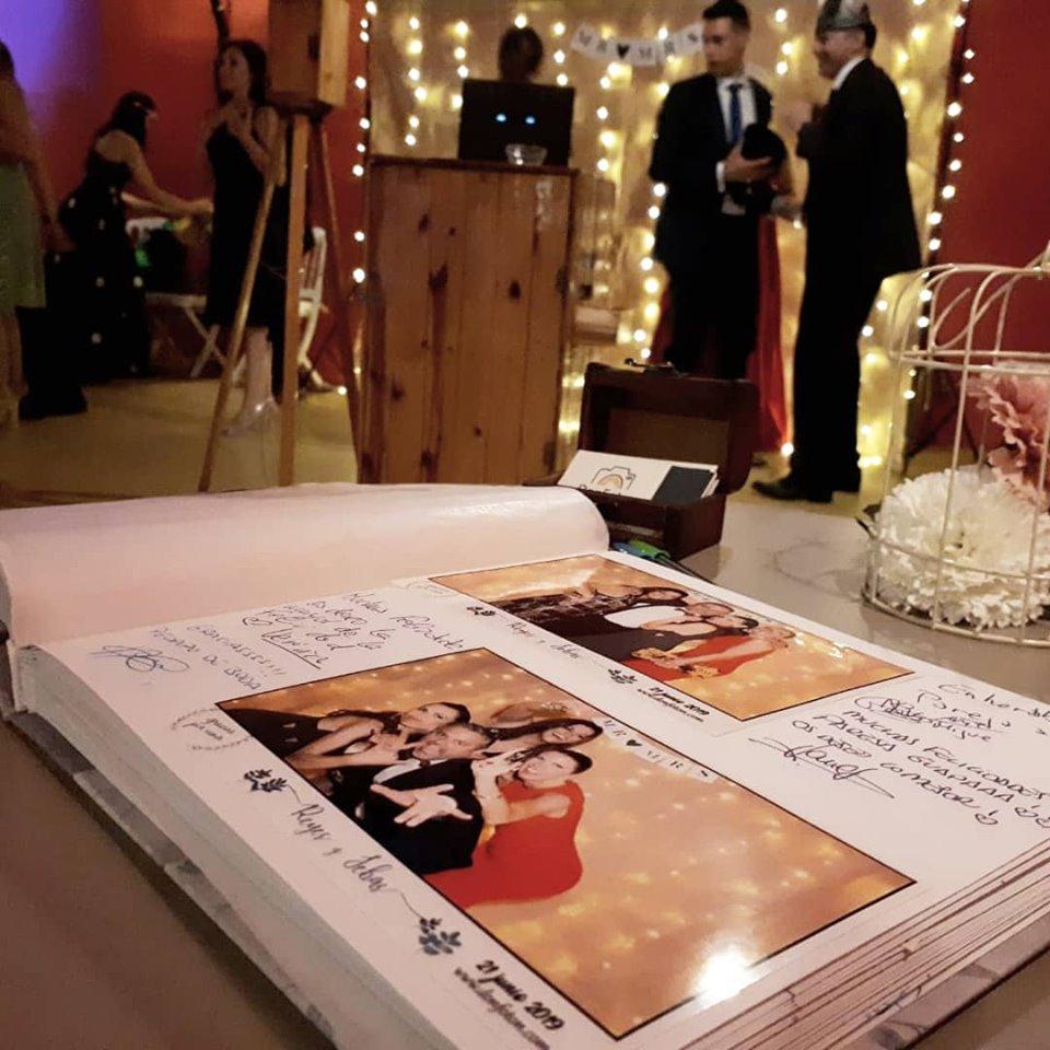 fotomaton boda en espartinas