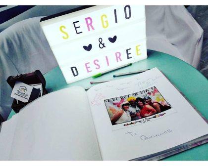 Fotomaton boda Sergio & Desirée