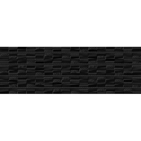 faience noir texture cancun 30x90cm