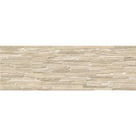 faience beige texture aranza 25x75cm rectifie satine