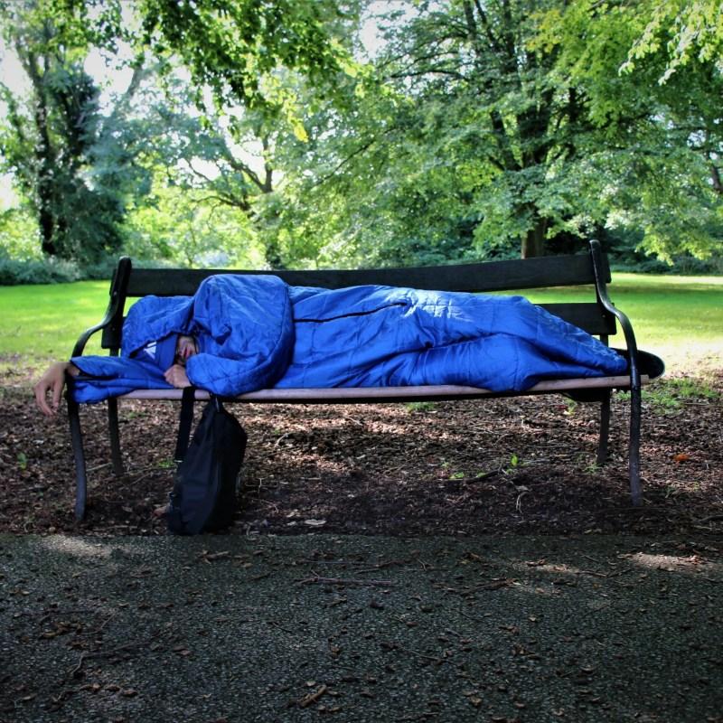 Wearable sleeping bag suit onesie