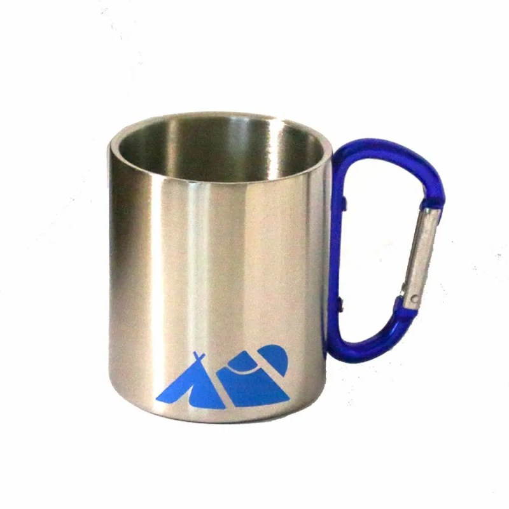 mug carabiner with logo