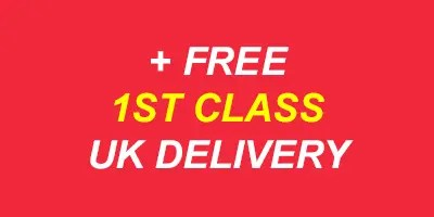 FREE FIRST CLASS UK DELIVERY RED