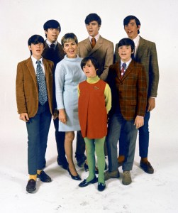 This late 1960's photo, location unknown, provided by the Cowsills, shows the Cowsills, a popular group of singing siblings and their mom. Surviving members of the group, which got its start playing frat parties and other local gigs in Rhode Island, are scheduled to perform Wednesday evening, Aug. 10, 2011 evening in Providence after the premiere of a new documentary about the band. (AP Photo/The Cowsills)
