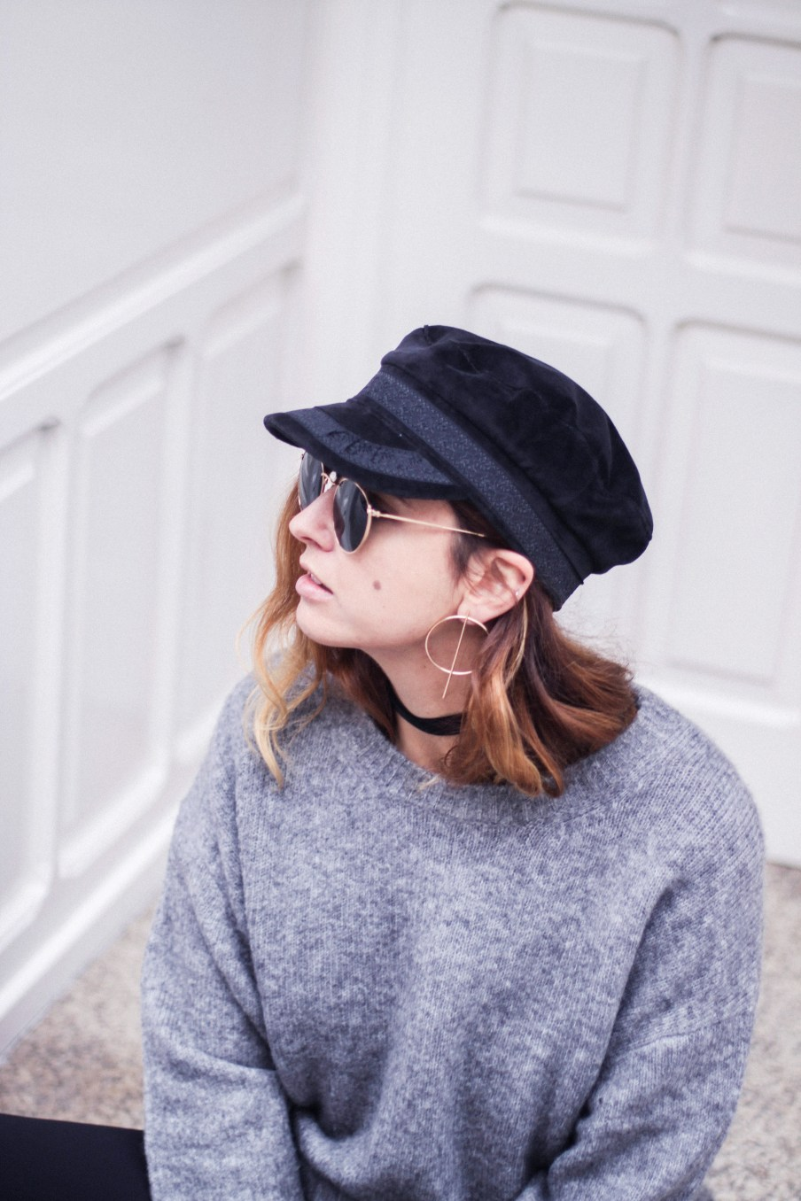 baker_boy_hat_flared_pants_vans_oversize_knit_fall_2016_trends_street_style_outfits_donkeycool-35