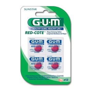 pastiglie rivelatrici di placca Gum Red Cote