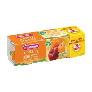 omogeneizzato 4 frutti