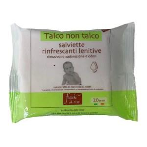 salviettine rinfrescanti talco non talco fiocchi di riso