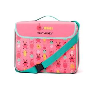 Rialzo Pieghevole da sedia Booo! rosa valigetta