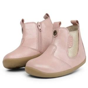 step up jodphur boot blush shimmer