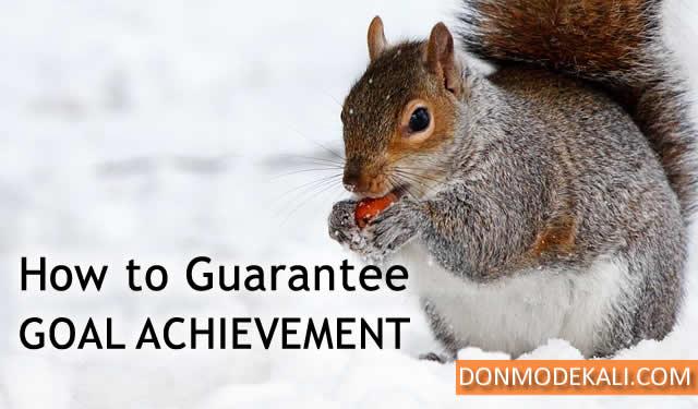 guarantee goal achievement