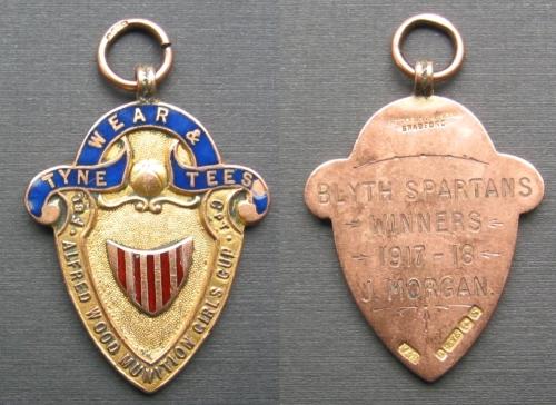 Jennie Morgan's medal