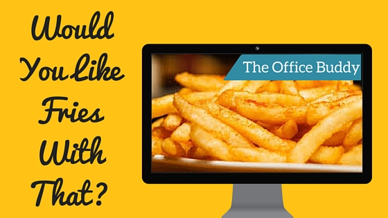 Would You Like Fries With That? Why Virtual Assistants Should Be Upselling