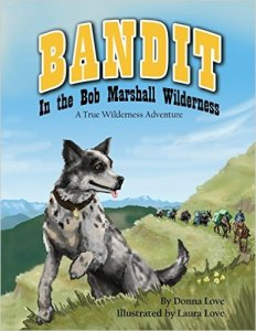 Bandit in the Bob Marshall Wilderness