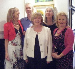 Knocklyon Art Group, at Rathfarnham Castle 2008