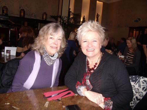 When Donna McGee Washington DC the artist met Donna McGee Dublin
