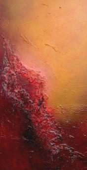 Genesis - oil on canvas 30 x 50 cms