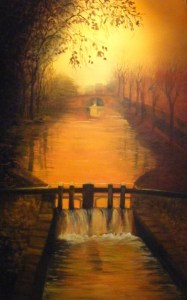 Irish Art: Grand Canal - People's Art