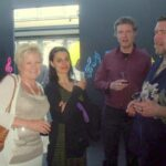 Opening Night at Instrumental Art Exhibition, Donna McGee, Rod Coyne, artists