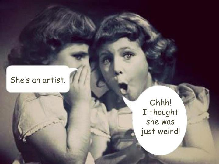 All about the artist - humour