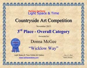 LST Art Award Donna McGee