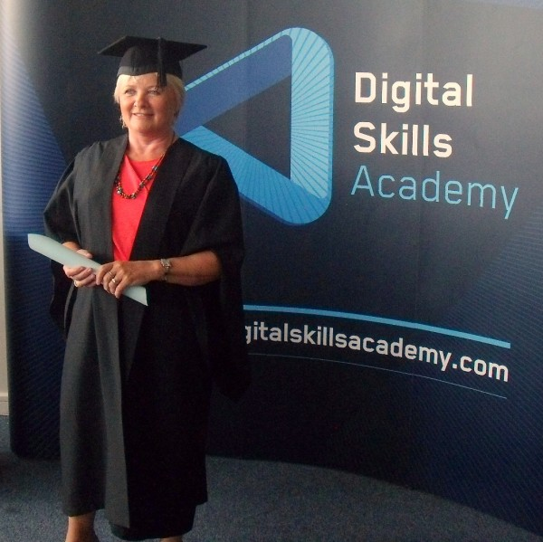 Graduation Day Every day is a school day DSA Graduation Web Elevate 2.0 Donna McGee