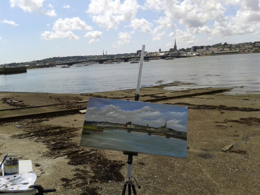 The Intriguing Adventures of a Plein Air Painter