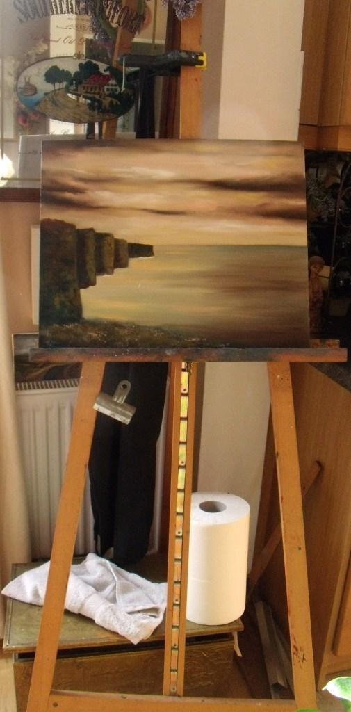 Work in Progress - Cliffs of Moher