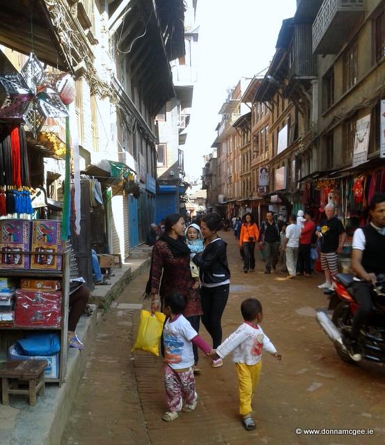 Baktaphur streets