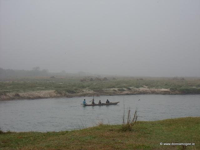 Canoeing Rapti River