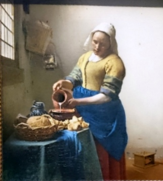 The Milkmaid, Vermeer at the Rijksmuseum