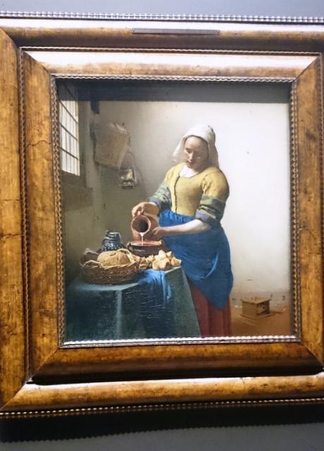 The Kitchen Maid. Vermeer 1658
