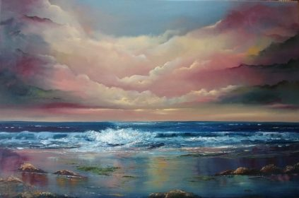 Here to Eternity 20 x 30 Oil on Canvas