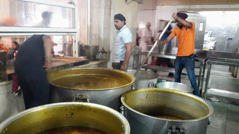 Sikh Temple - Food is nearly ready
