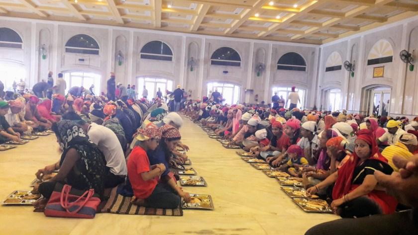 Sikh Temple - Food at last