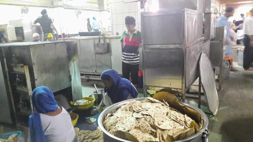 Sikh Temple - Food Preparation