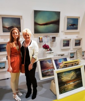 PTSB Ideal Home Show Caoimhe McGee my lovely daughter at Ideal Homes Show