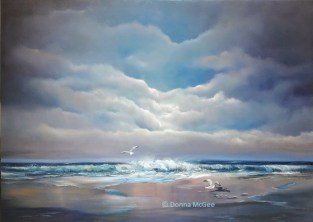 Atlantic Breeze 30 x 40 inches - Oil on Canvas