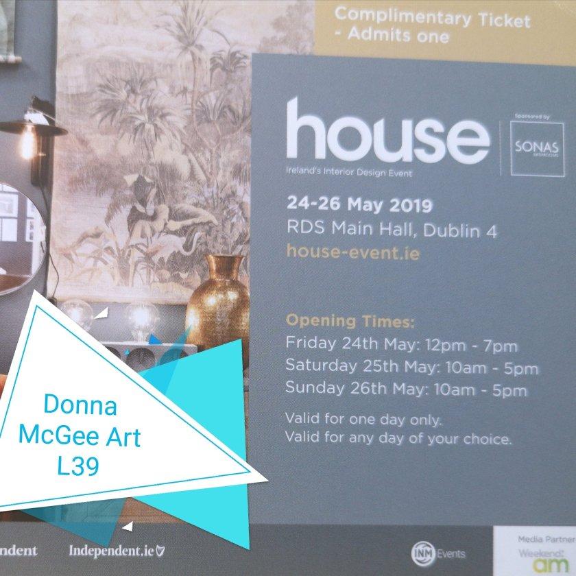 Donna McGee at Artloft House Event