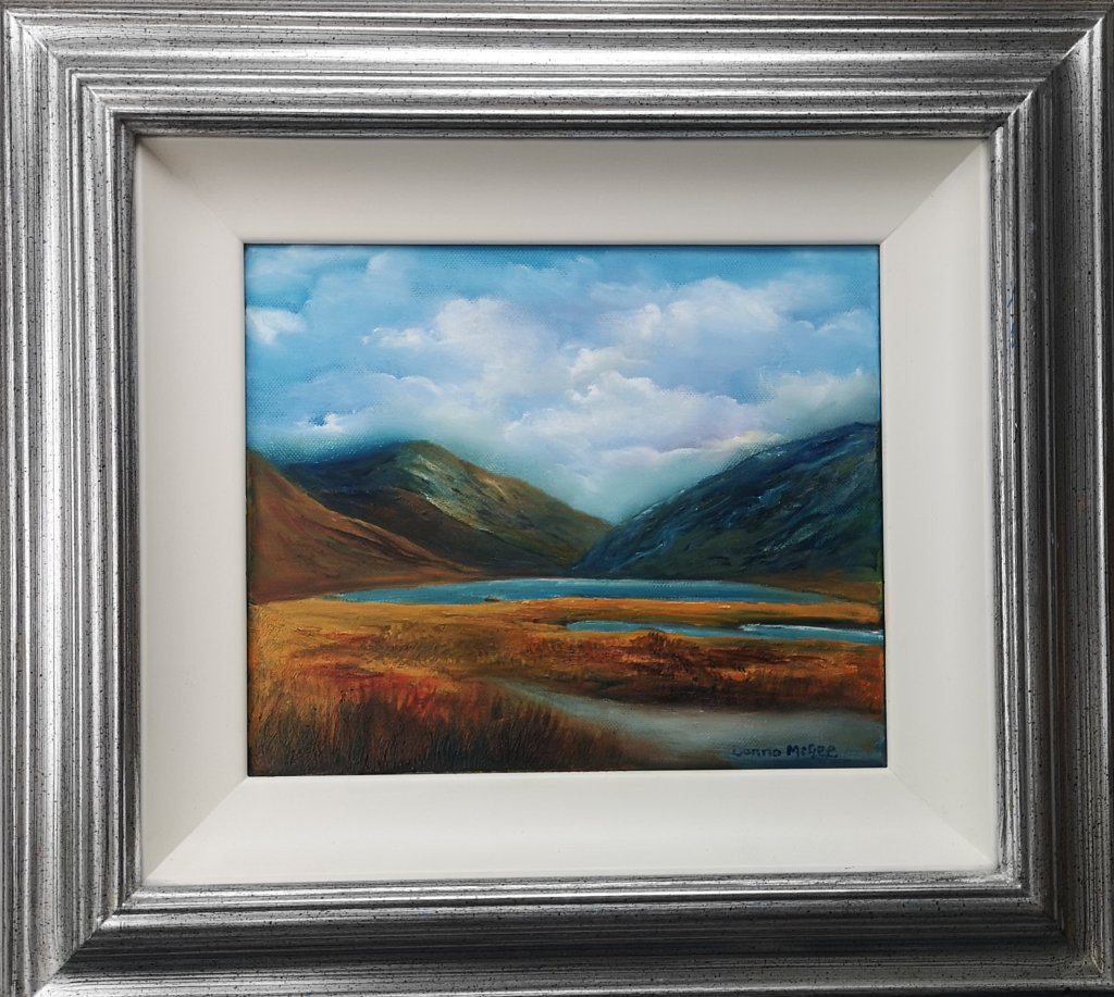 Doolough Valley Framed
