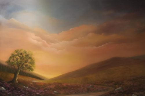 iRISH LANDSCAPSE ART